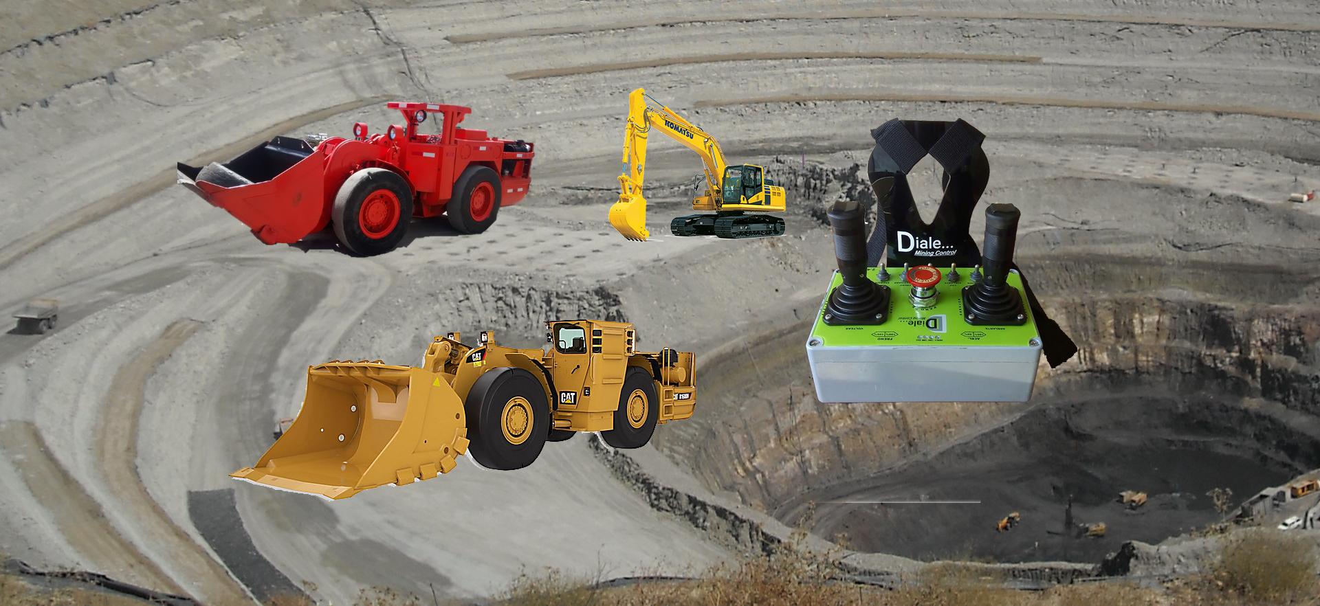 Tele-Mandos para Minería